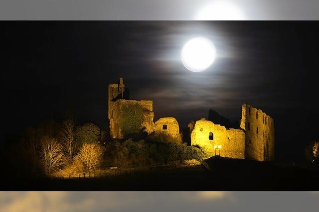 Der Mond über Staufen