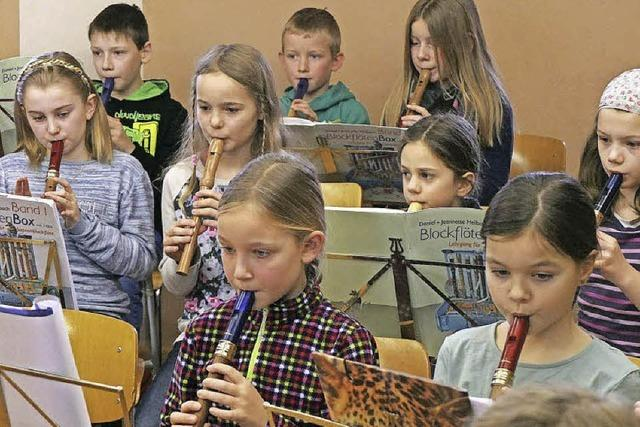 Ein musikalisches Märchen, aufgeführt in Unterlauchringen