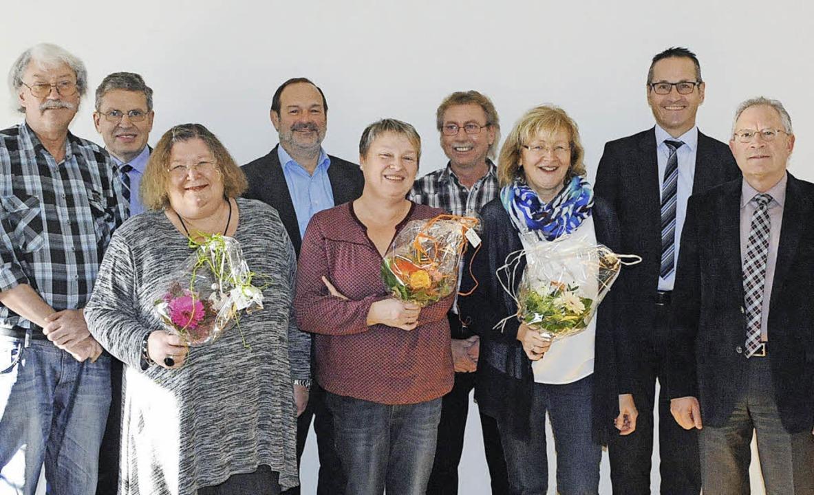 Der Vorsteher des Finanzamts Lahr, Chr...r Christian Buss und Clemens Oehler.    | Foto: finanzamt