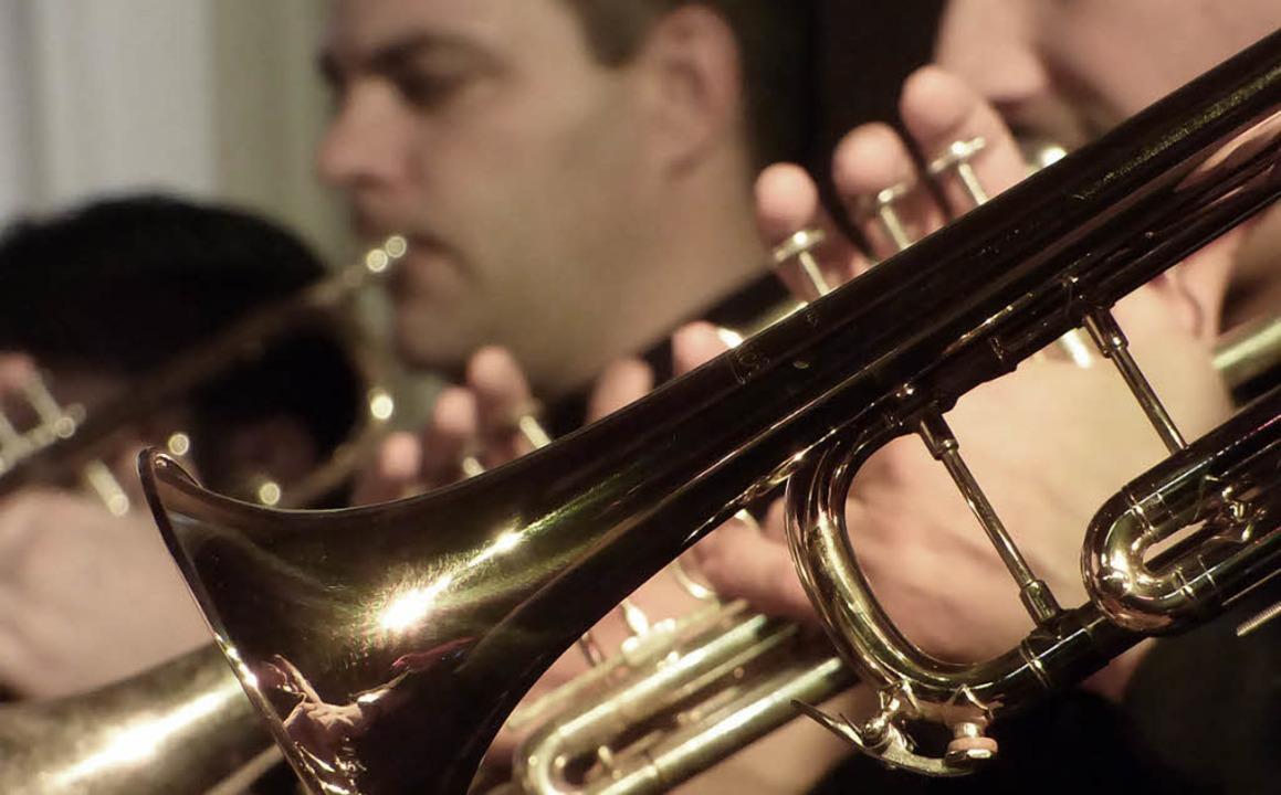 Die Musiker bekamen am Schluss einen Riesenapplaus.   | Foto: F. Leonhardt