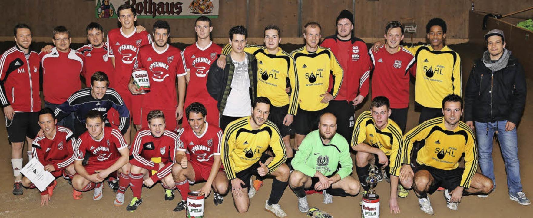 Die Siegermannschaft des SV Ebnet  (ge...chts: Nico Faller. Heinrich Fehrenbach    Foto: Heinrich Fehrenbach