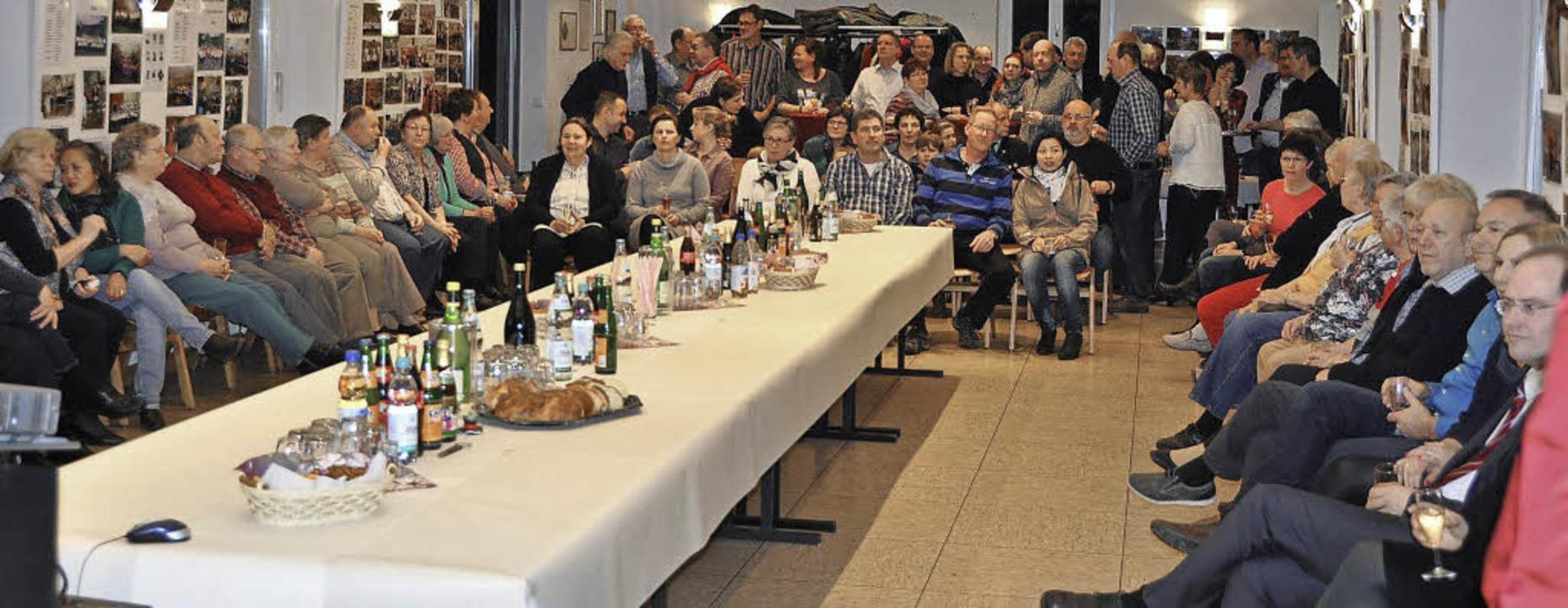 Gut besucht war der Neujahrsempfang des Ortschaftsrates Feuerbach.   | Foto: Ilse Wißner