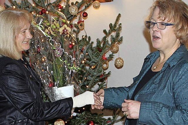 Lob und Dank für Ulla Lais zum Abschied