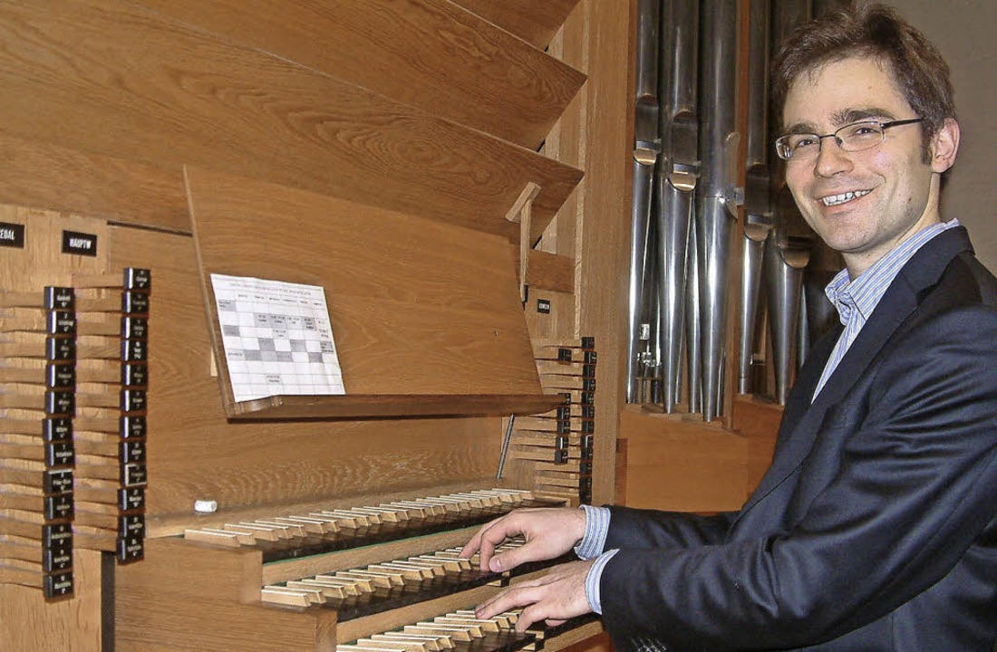 Orgelmusik aus Barock und Klassik spie...k im neuen Jahr in der Christuskirche.    Foto: Roswitha Frey