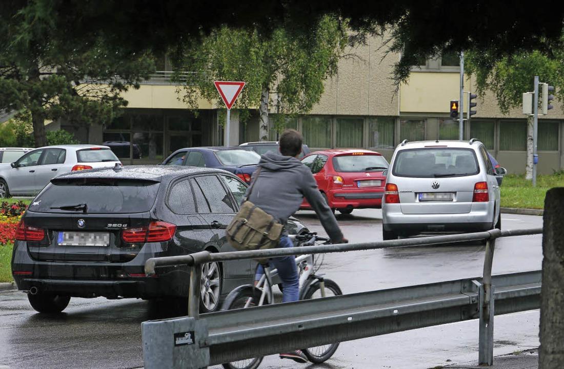 Dichter Verkehr – das Archivfoto...nen – auch in den Leserbriefen.     Foto: Nikolaus Trenz