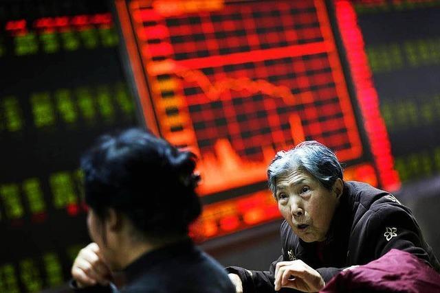 Chinas Börsen brechen ein – auch der Dax verliert
