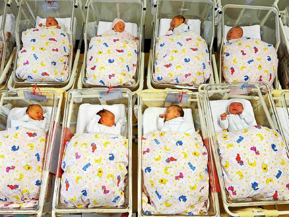 Marie und Elias: So nannten die meisten Eltern in Offenburg 2015 ihre Babys.  | Foto: dpa