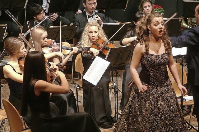 Musikalisch beschwingt wie in Wien ins neue Jahr