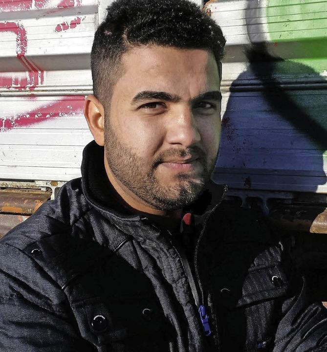 Omar Yunis aus dem Irak  | Foto: David Weigend