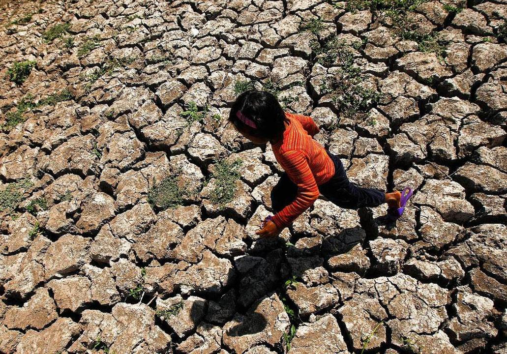 Dürre durch El Niño auf den Philippinen    Foto: Francis R. Malasig