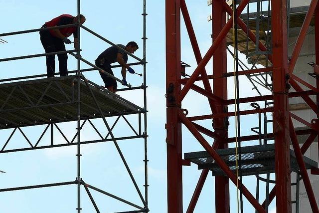 Arbeitsmarkt entwickelt sich günstig