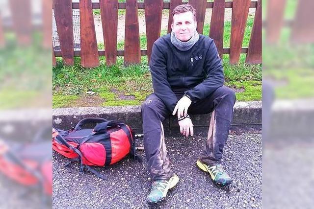 Offenburger wandert in knapp 25 Stunden über den Kandelhöhenweg