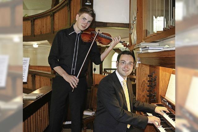 Orgel- und Violine-Konzert in der Ev. Kirche in Schallstadt-Mengenl