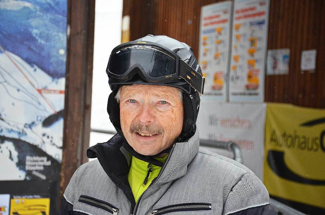 Skiliftbetreiber Ernst Boll    Foto: Gabriele Hennicke