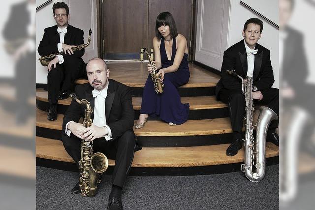 Rascher Saxophon Quartett in Emmendingen-Wasser
