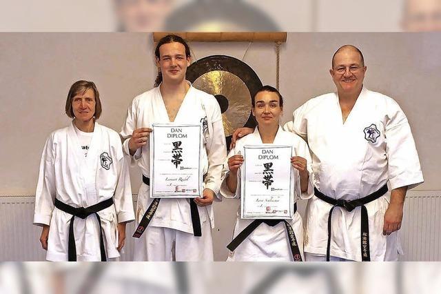 Ausüben der Karatekunst ist keine Frage des Alters