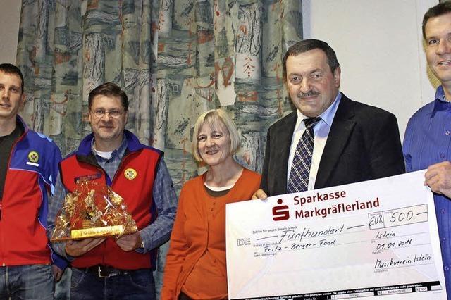 Geld für Berger-Fonds und Bergwacht