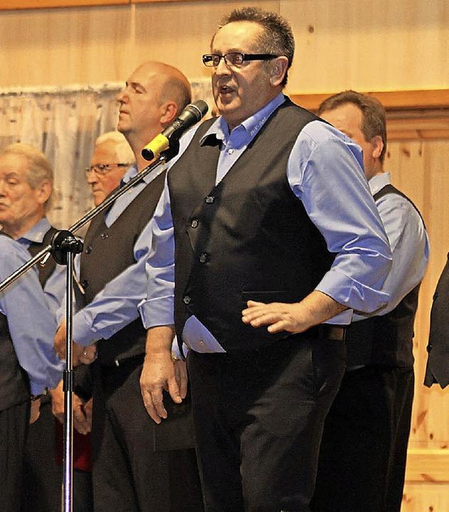 Harald Lehmann überzeugte als Solist.    Foto: adelbert Mutz