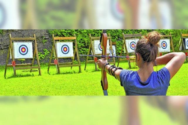 Schützen bieten Bogensport