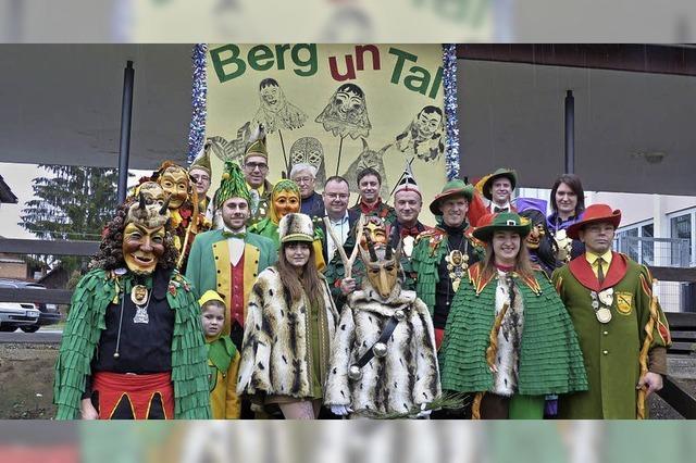 Berg un Tal feiern in Heimbach