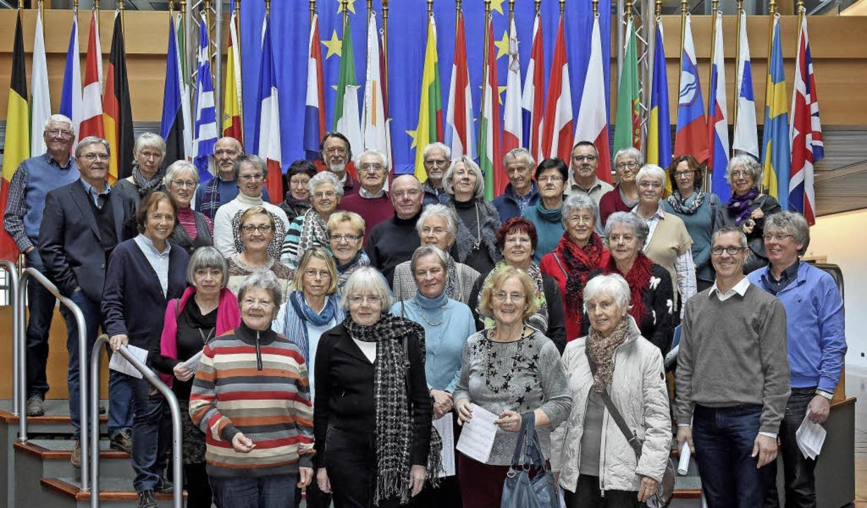 Das Ökumenische Bildungswerk Waldkirch...hte das Europaparlament in Straßburg.     Foto: zvg