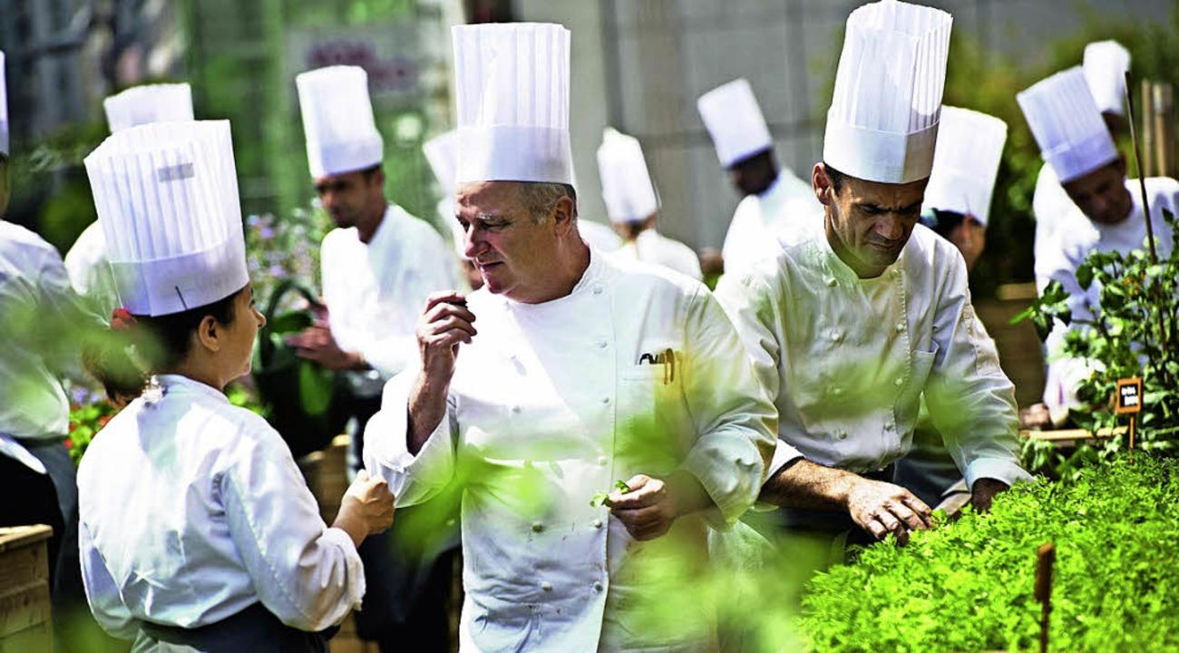Die  Gastronomie benötigt viele  Mitarbeiter.   | Foto: dpa