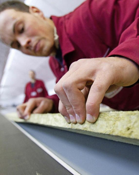 Handwerk hat  goldenen Boden – Fachkräfte sind gesucht.     Foto: dpa