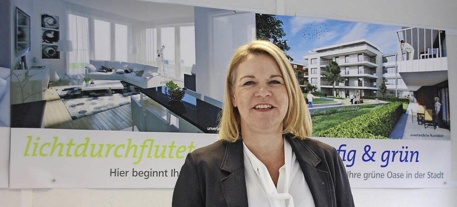 Caroline Donche-Brugger ist sehr zufrieden mit der Nachfrage.    Foto: Ralf Staub