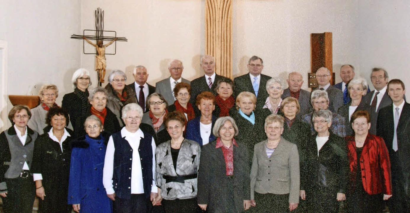 Der Kirchenchor Schwörstadt-Öflingen steht vor der Auflösung.  | Foto: Kirchengemeinde