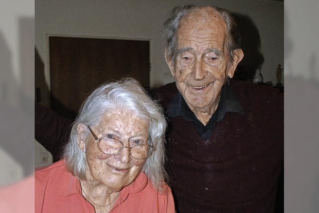 Seit 60 Jahren zusammen im Ehehafen