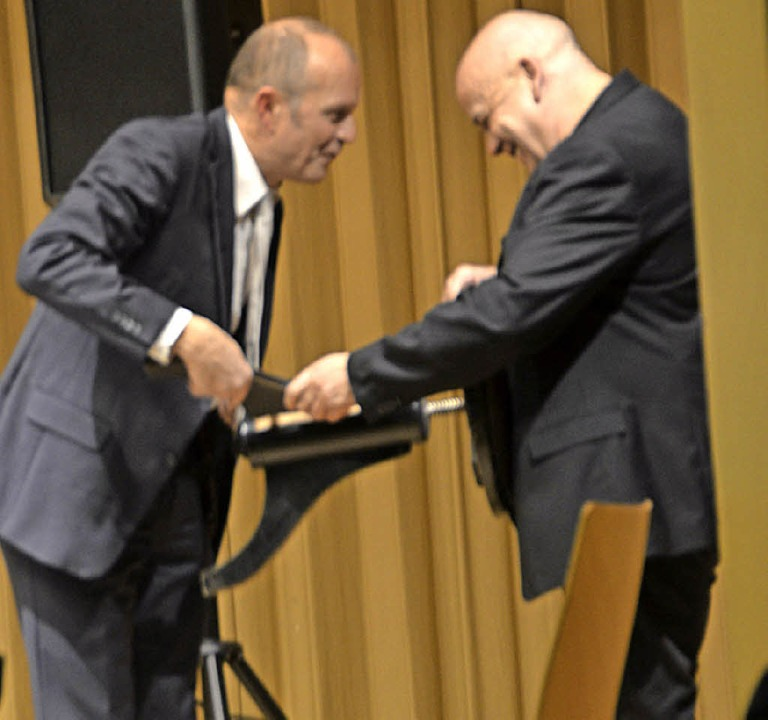Stuhl kaputt, Pianist lebt  | Foto: Krug