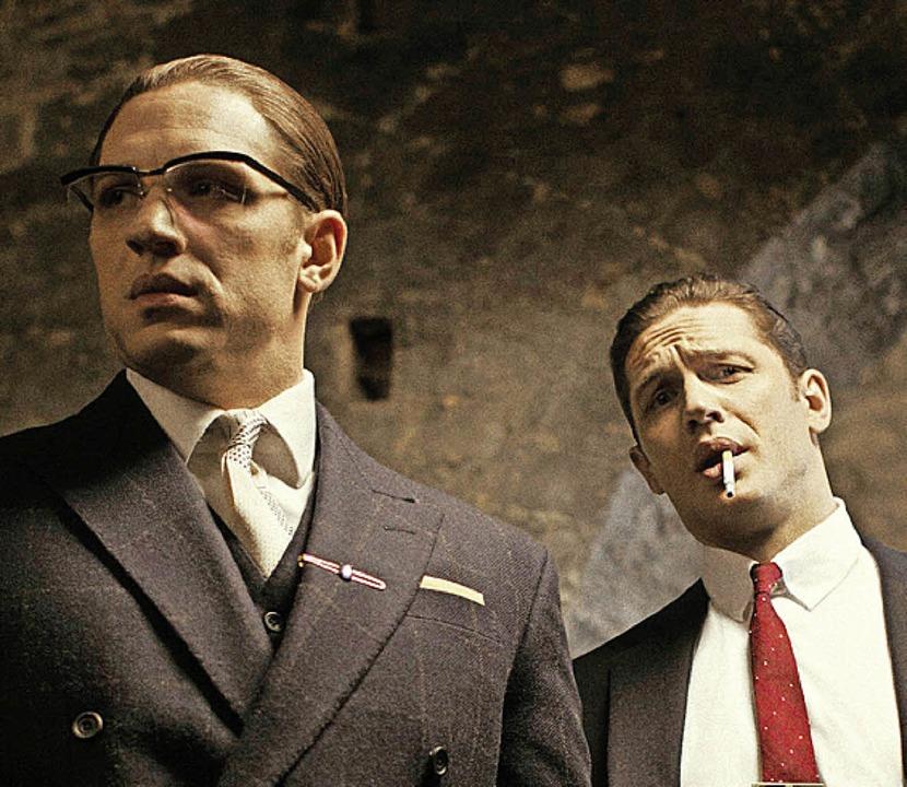 Doppelrolle für Tom Hardy      Foto: dpa
