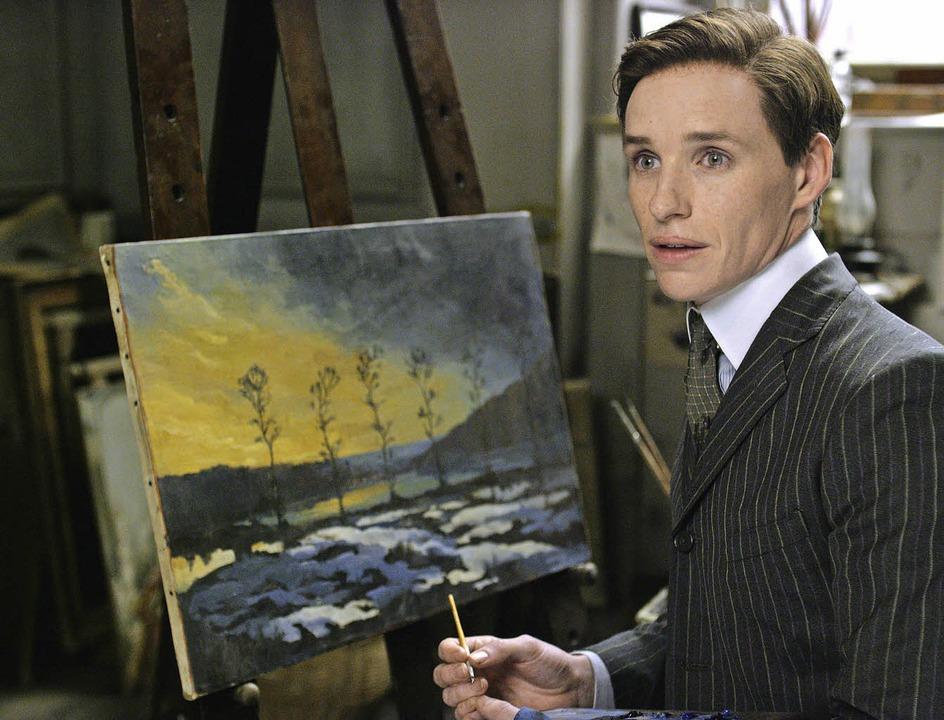 Eddie Redmayne in der Rolle des dänischen Malers Einar Wegener     Foto: Universal Pictures