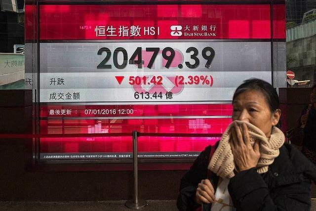 Börsenbeben in China reißt Dax unter 10 000 Punkte und sorgt weltweit für Wirbel