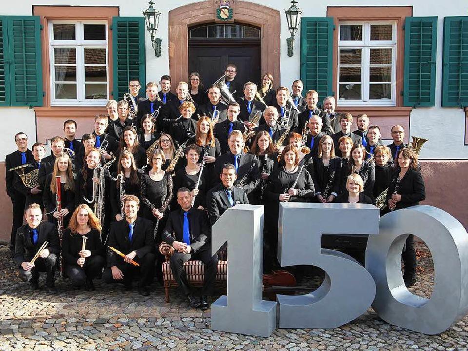 Die Wollbacher Musiker  im Jubiläumsjahr  | Foto: privat