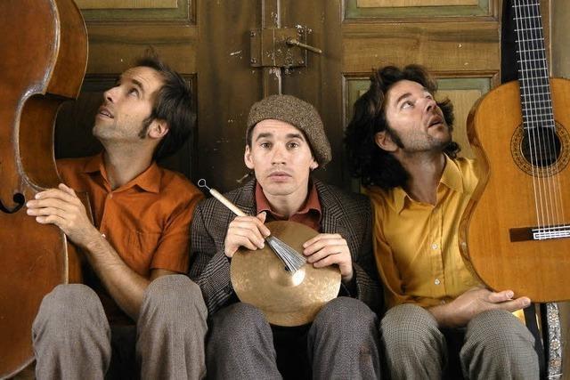 Trio Mattermania gastiert in der Kultschüür im schweizerischen Laufenburg