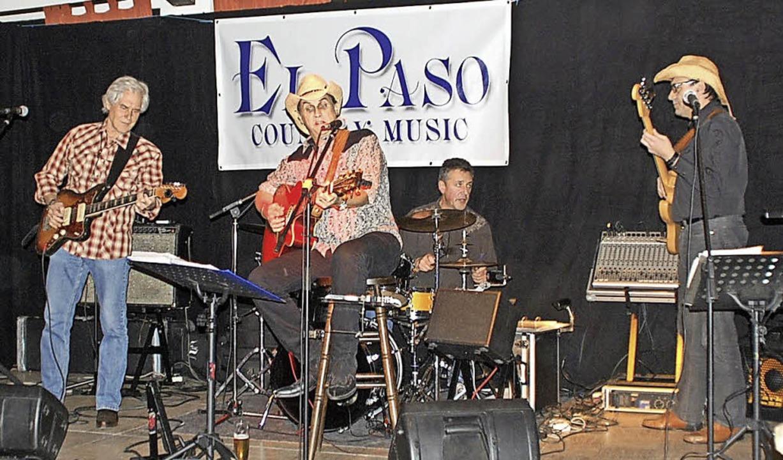 Endingen. Die Band El Passo  beim Westernabend.  Aufnahme Privat    Foto:  privat