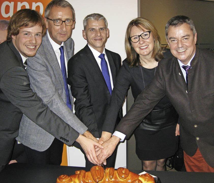 Die Christdemokraten blicken zuversich...rle  und  Bürgermeister Volker Kieber   | Foto: Privat