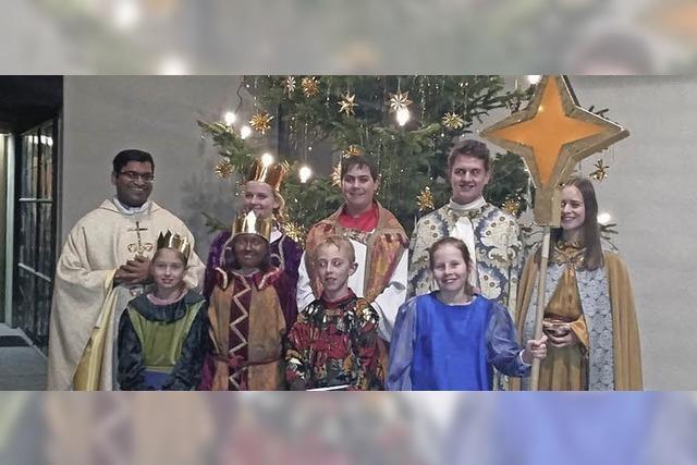 Brauch des Dreikönigssingens entstand im Mittelalter