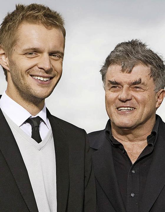 Eingespieltes Team:  Florian Schroeder (links), Volkmar Staub     Foto: Pro
