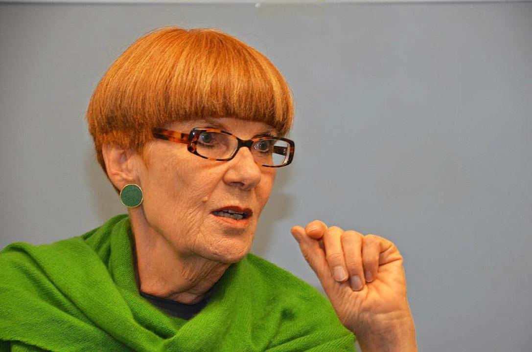 Islamwissenschaftlerin Gudrun Schubert  | Foto: Nikolaus Trenz