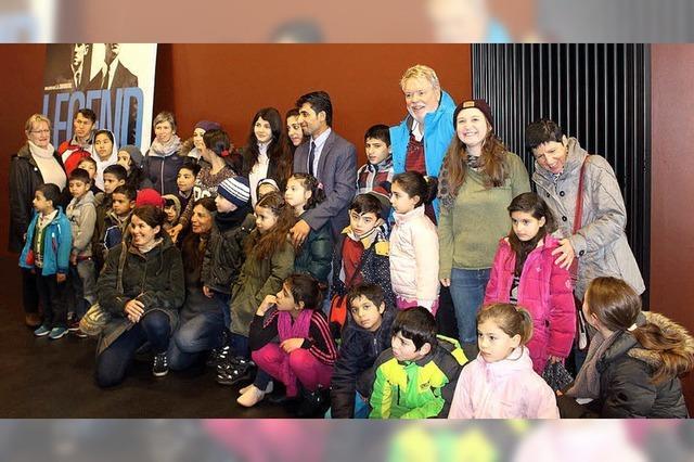 Kino für Flüchtlingskinder