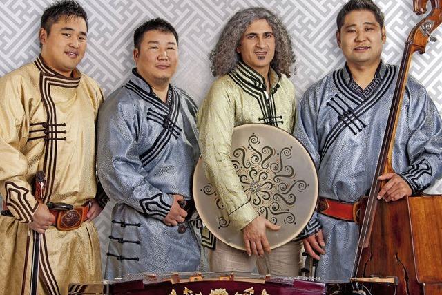 Die mongolisch-persische Formation Sedaa entführt in exotische Welten