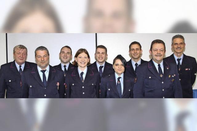 Ein forderndes Jahr für die Feuerwehr