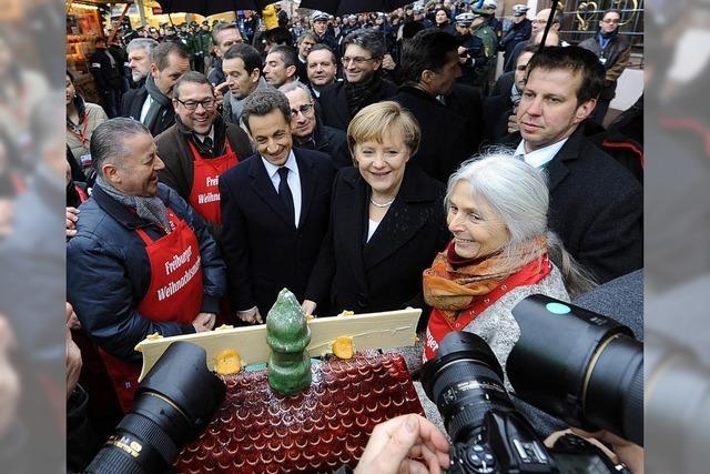Angela Merkel kommt am Mittwoch ins Freiburger Konzerthaus