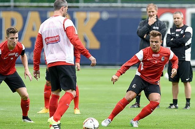 Trainingsauftakt beim SC Freiburg