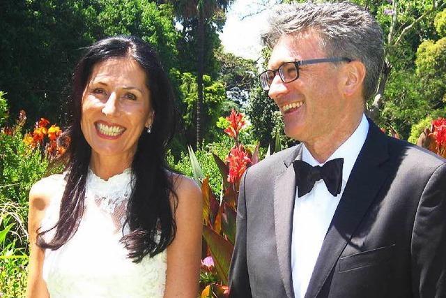 OB Dieter Salomon und Helga Mayer haben in Melbourne geheiratet