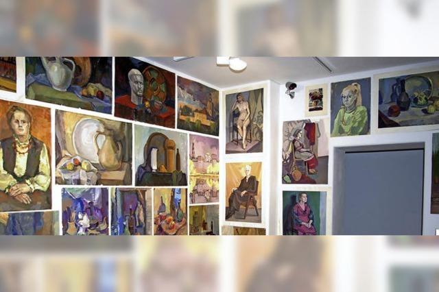 Gewidmet der Alma Mater Stroganov Kunstakedemie Moskau