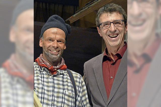Seit 30 Jahren auf der Theaterbühne