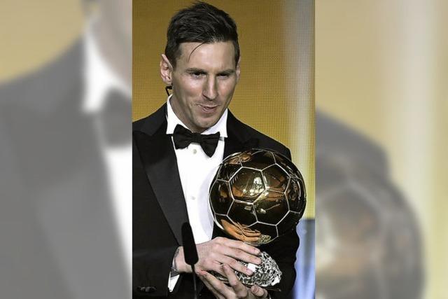 Messi zum Fünften